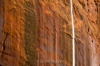 Water Streak, Long Canyon, Utah